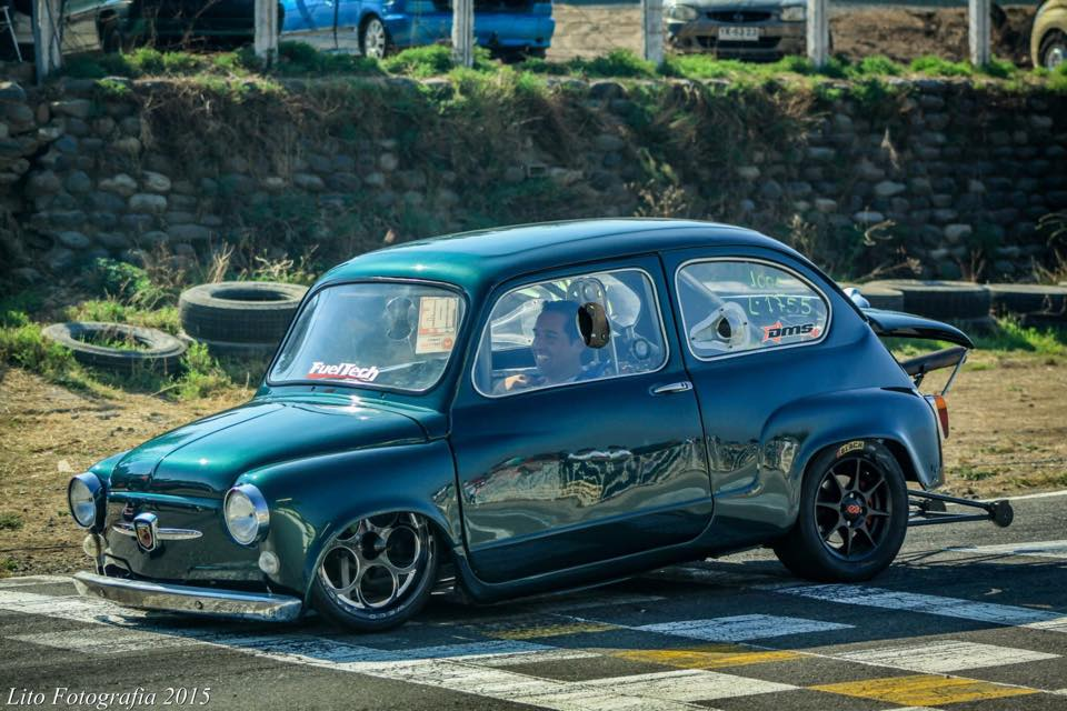 Hell In A Handbasket: This Fiat 600 Is A Center Steer, 9-Second Quarter Mile, Argentinean Sensation (Video)