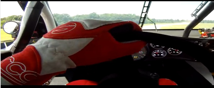 Ride Along On The Helmet Of Kevin Harvick For A 9,000RPM Rip Saw Road Course Lap At VIR
