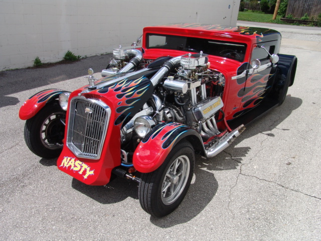 This 1930 Hudson With Twin Blown Big Blocks Is The Craziest Thing On eBay Right Now