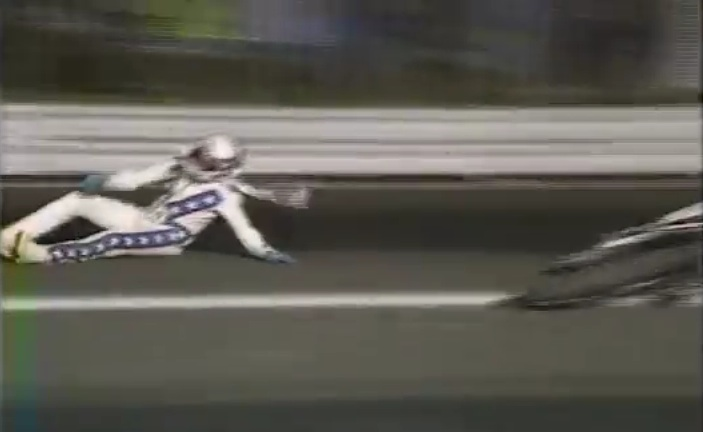 Watch Robbie Knievel Have A Tough Night At Atco Dragway Circa 1991 – VERY Rough Landing