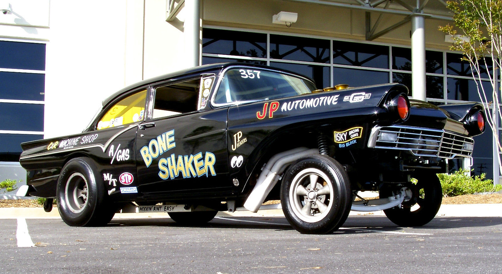 The Bone Shaker 1957 Ford Gasser Is For Sale! Injected Boss 429, Four Speed Trans – Perfection!