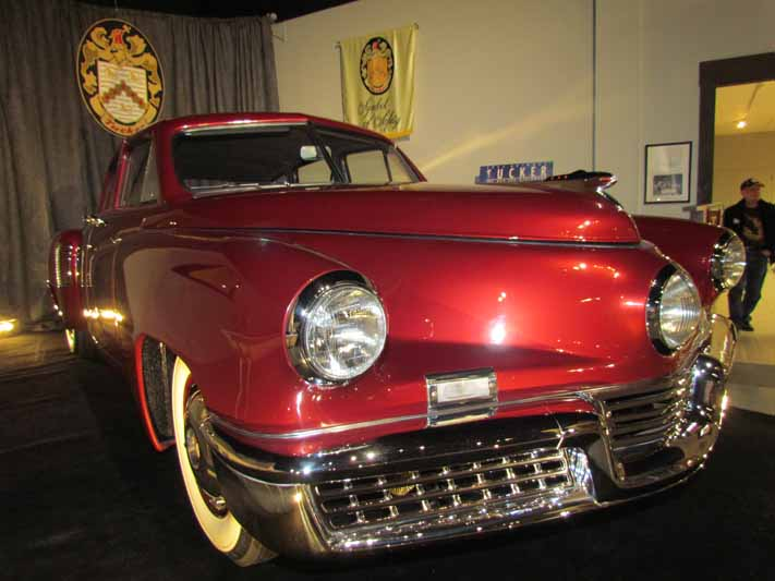 Tucker: A Look At The Amazing Tucker Exhibition At The AACA Museum – Full Cars, Prototype Engines, More