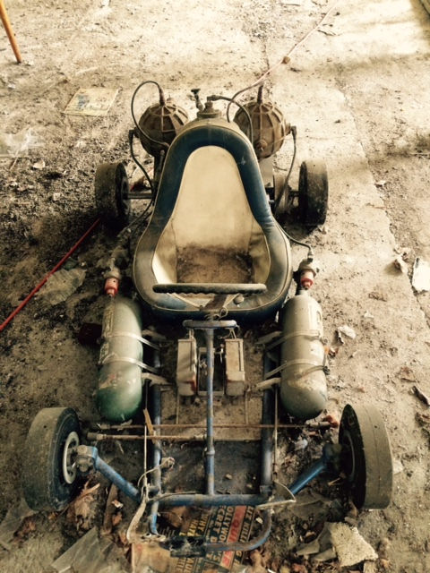 Best Of 2015: Here's A Proper Barn Find: A Turbonique T-16 Rocket Go Kart Was Found In A Barn In Alberta