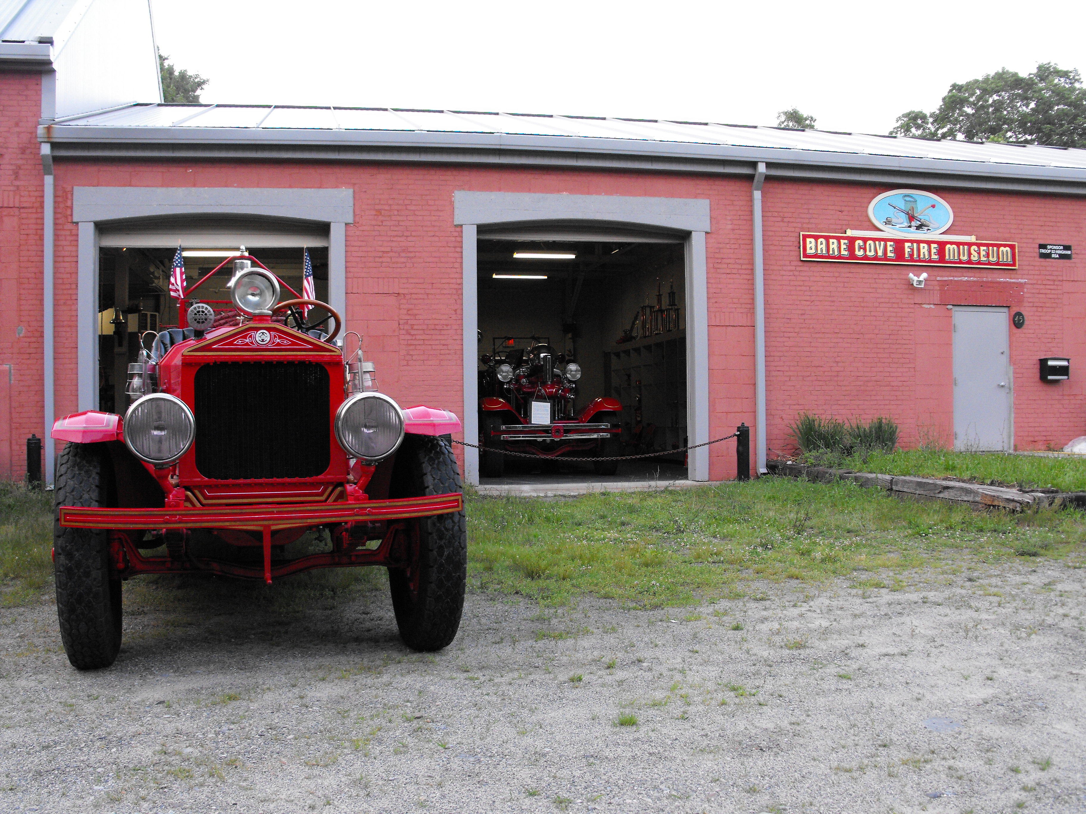 Bangshift Visits The Bare Cove Fire Museum: Vintage Firefighting Equipment Galore!