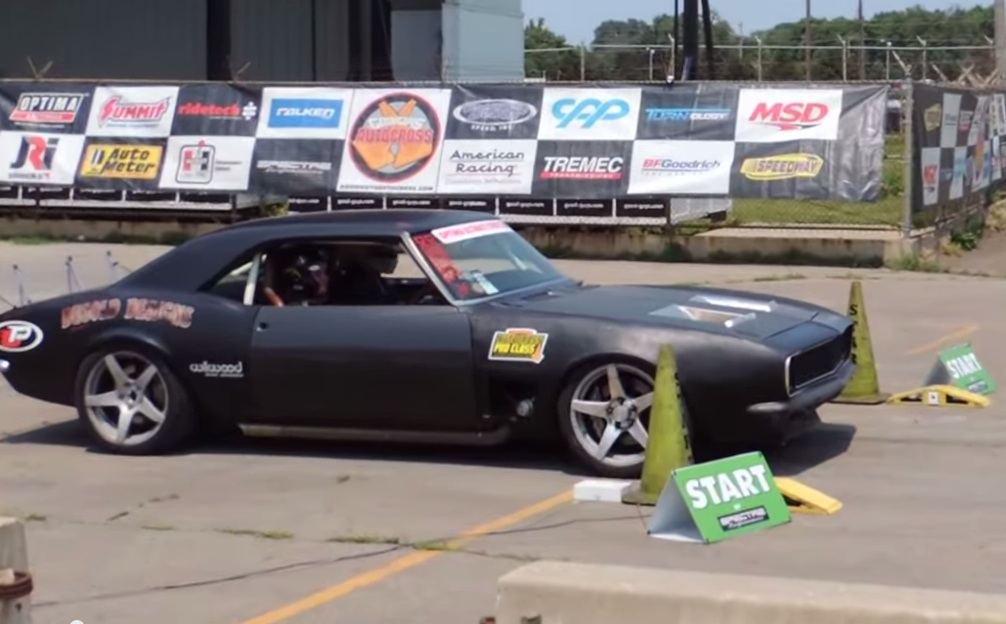 ACED: AutoCross Every Day! Mike Dusold's Camaro Kills It At Des Moines Goodguys