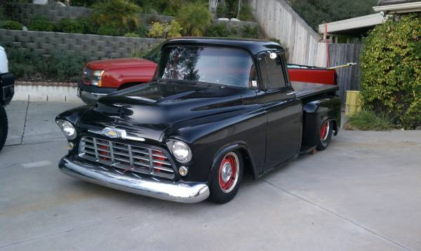 help a family keep this tubbed 39 56 chevy pro street truck. Black Bedroom Furniture Sets. Home Design Ideas