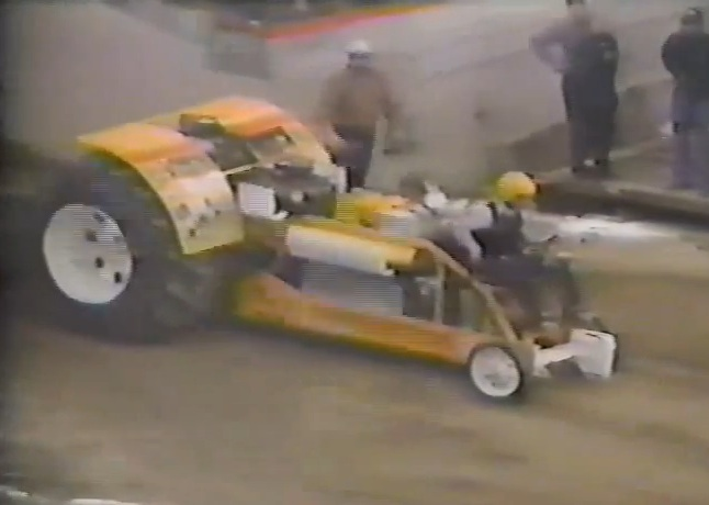 Milt Bergman's Rambunctious Pulling Tractor Had An Allison AND Multiple Oldsmobile Engines! (Video)
