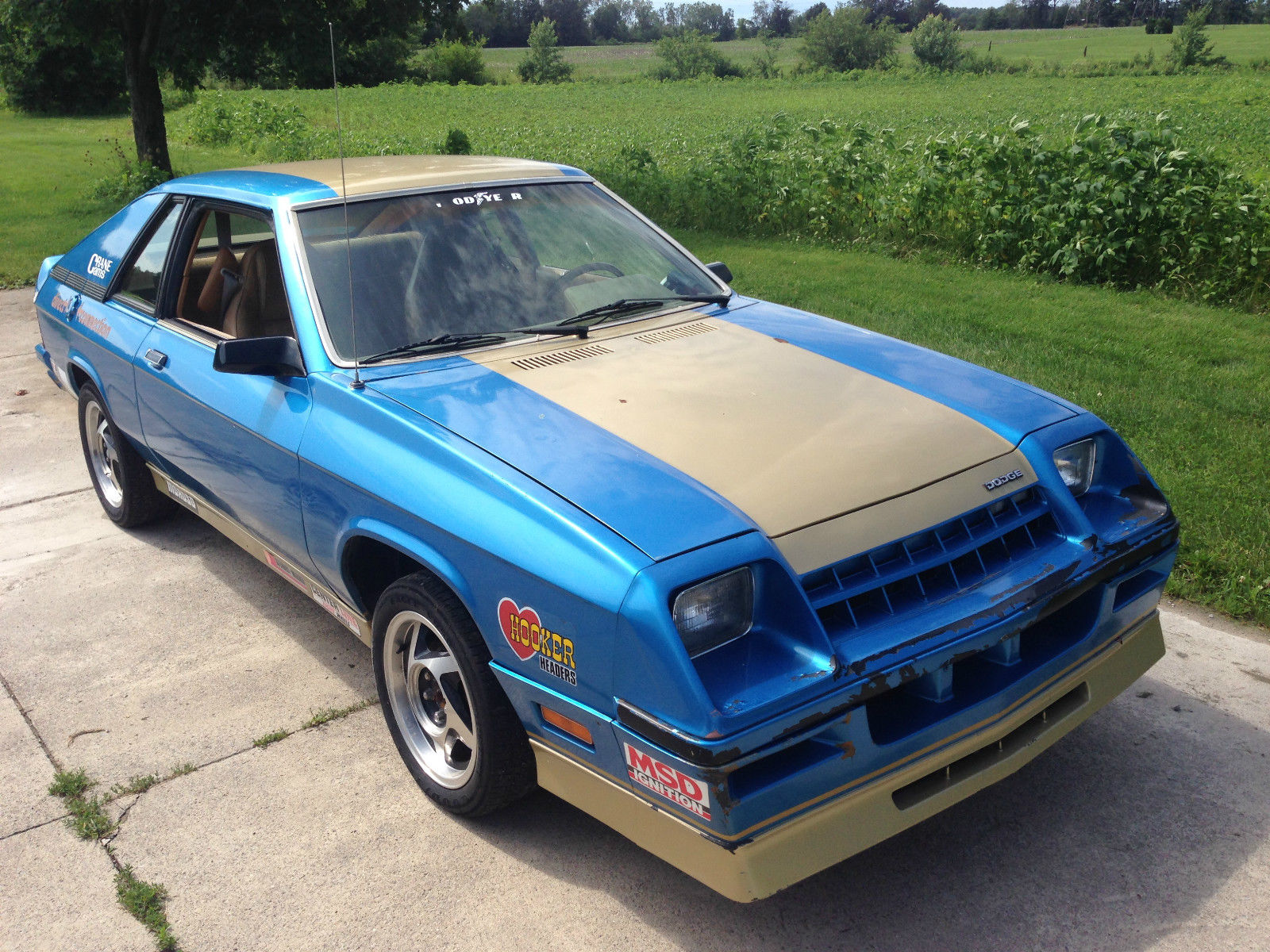 Bangshift Com Is This 1982 Dodge Charger The Shelby Backed Drag Racing Prototype There S A