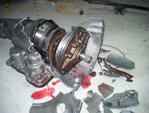 Bangshift Com Kaboom This Cuda S Transmission Explosion