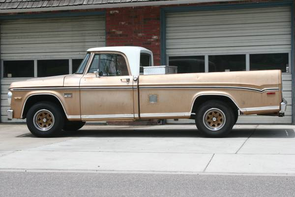 BangShift.com Rough Start: This 1971 Dodge D100 Is In Need ...