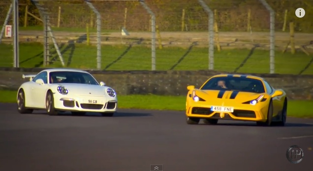 Watch As Chris Harris And Tiff Needell Battle It Out At Castle Combe – Two Excellent Drivers In Two Excellent Rides!