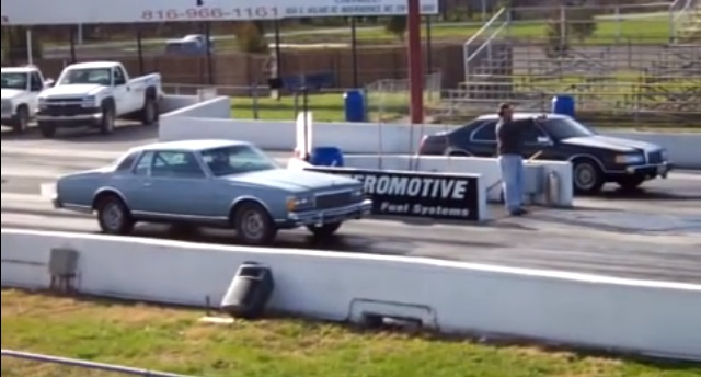 A Rare Pairing: A Twin-Turbo, Five-Speed Lincoln Mark VII vs. An LS1 Caprice Coupe