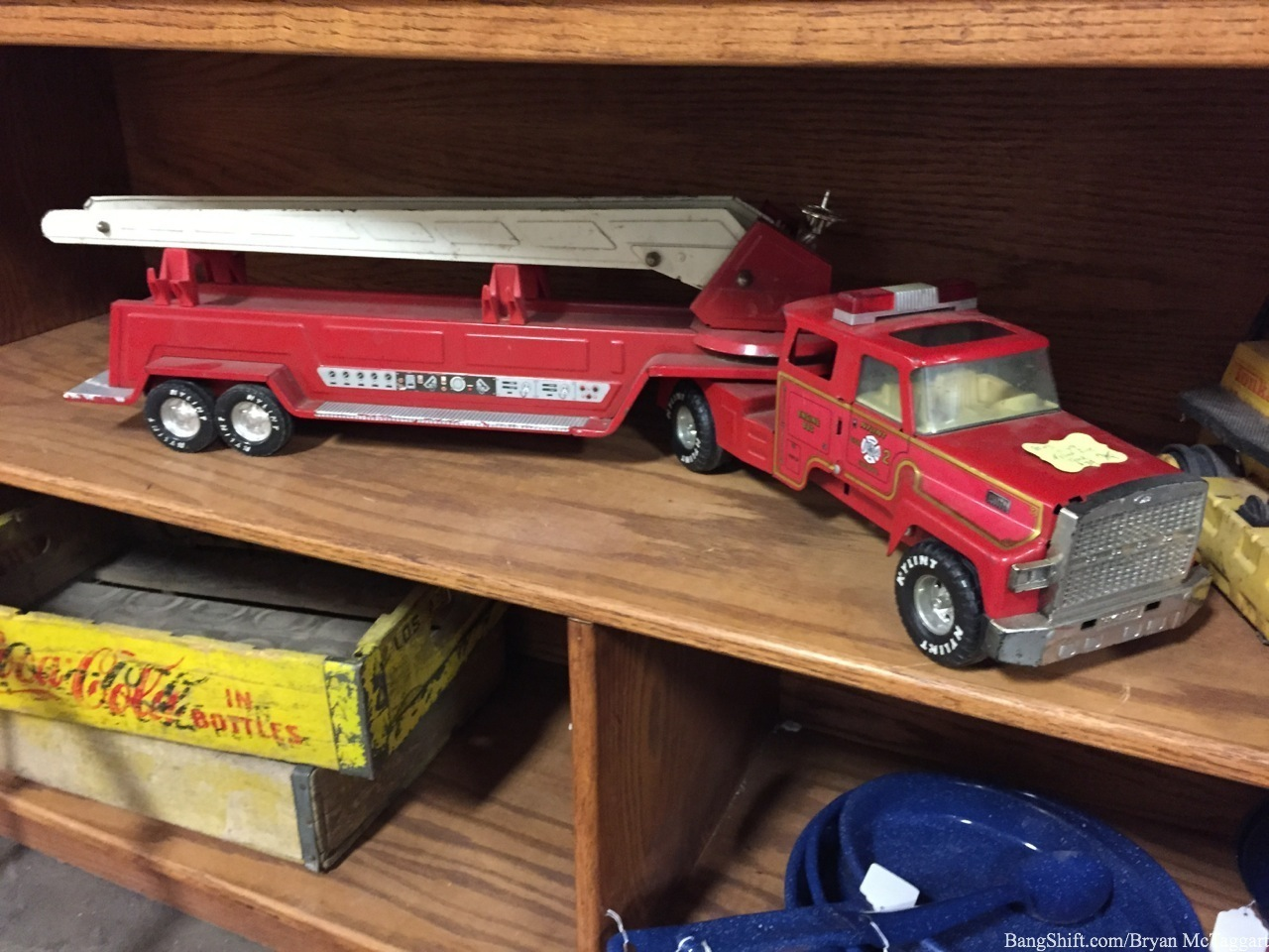 Quick Gallery: Toy Cars From The Past (Ok, I Got Drug Into Antiquing With The Wife…)