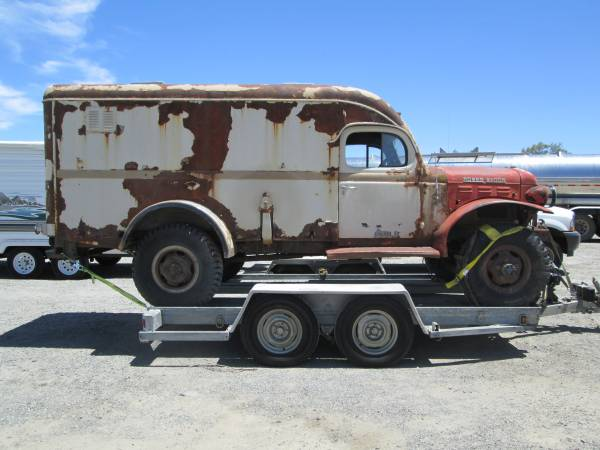 Unmolested all original 1952 dodge power for Motorized wagon for sale