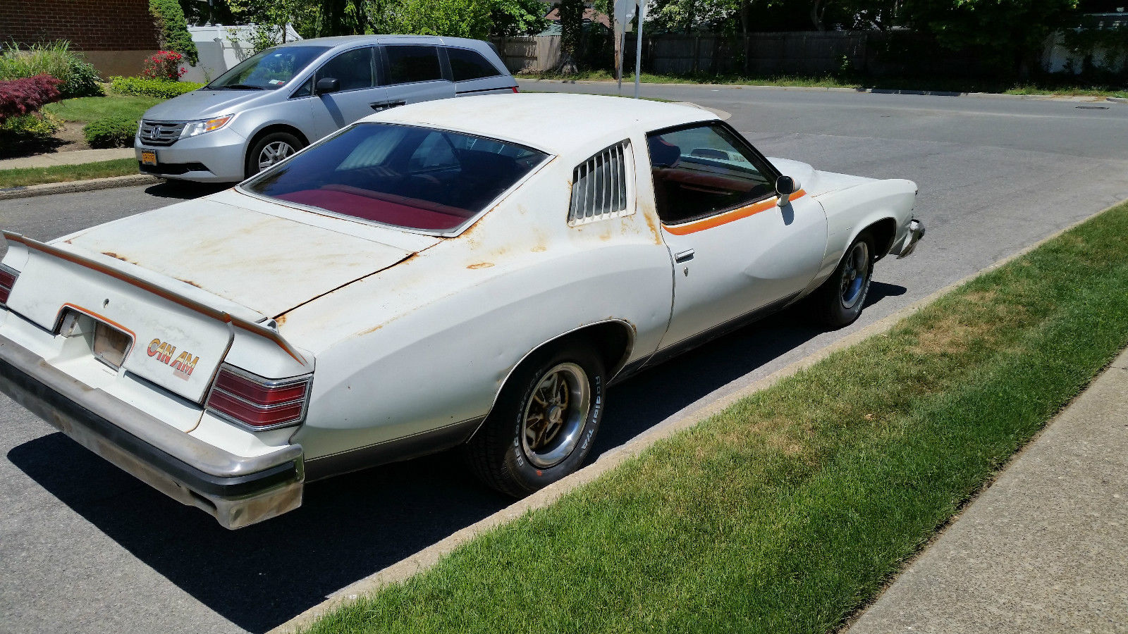 BangShift.com Rough Start: Is This Rusty But Complete 1977 Pontiac ...