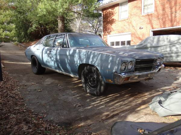 Bangshift Com Rough Start Finding A Drivable 1970 Chevelle For The