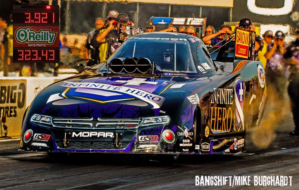 Beckman's Awesome 3.921 ET – Quickest In NHRA History