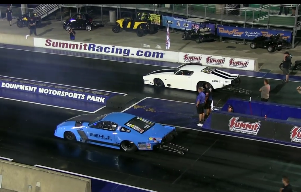 Watch The Quickest And Fastest Side By Side NMCA Pro Mod Pass In History – Razor Tight And Crazy Quick