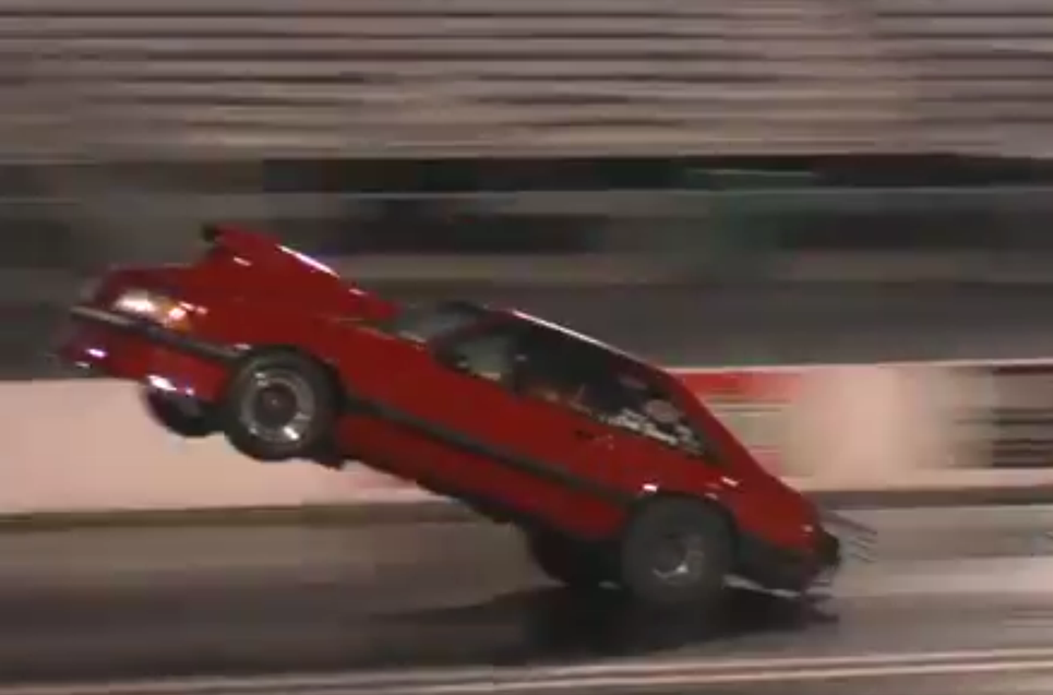 Watch This Wild Wheelstand From The Street Car SuperNationals St Louis! Did You See It LIVE Last Night? Watch LIVE Tonight!
