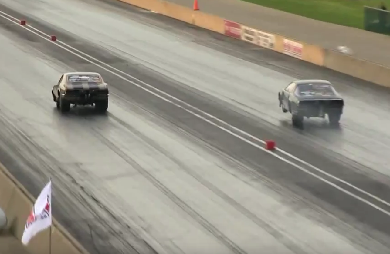The Golden Gorilla Attacks! Watch DeWayne Mills Run 4.03/200 In The Eighth-Mile At The NMCA World Street Finals