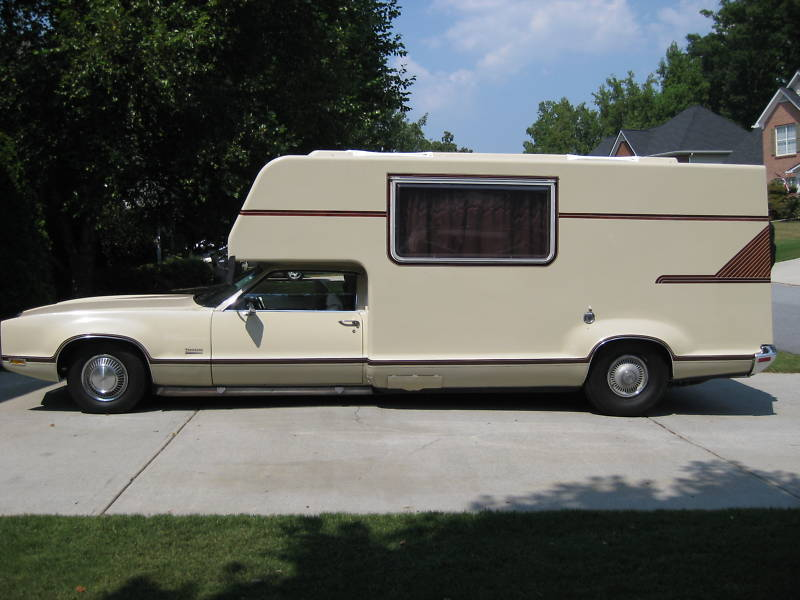 This 1970 Oldsmobile Toronado GT Camper Van Is Right Up Chad's Alley