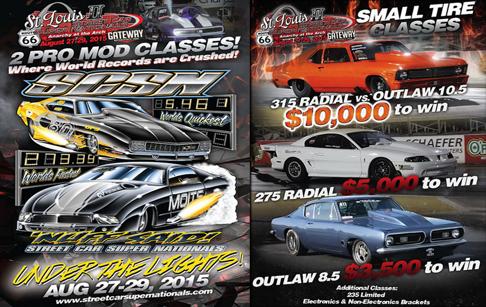 REPLAY: FREE Live Streaming Video Of The Street Car Super Nationals St. Louis Right Here!!!