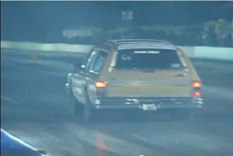 Classic YouTube: It's Big, It's Brown, And It Hauls! It's A 700-horse Caprice Wagon!