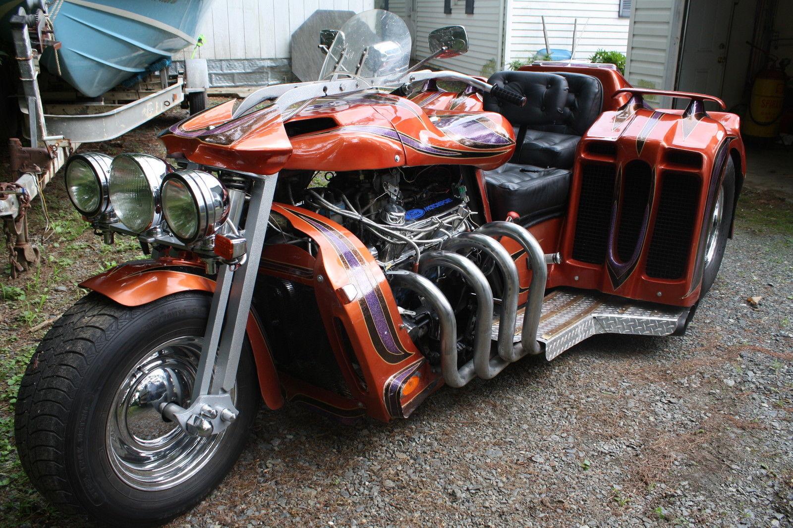 Bangshift Com Cleveland Powered Pro Street Trike