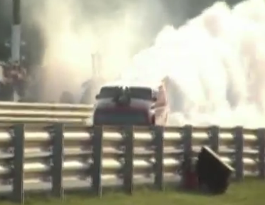 Watch The Blown Big Block Astro Van Blastro Produce One Of The Most Vicious Burnouts We Have Ever Seen – Wild!