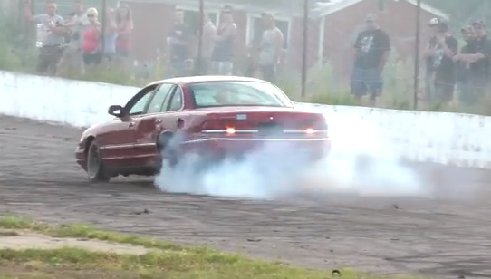 Classic YouTube: Cannonballs Off A Sunken Dodge, A Freightliner, And A Severely Abused Crown Vic!