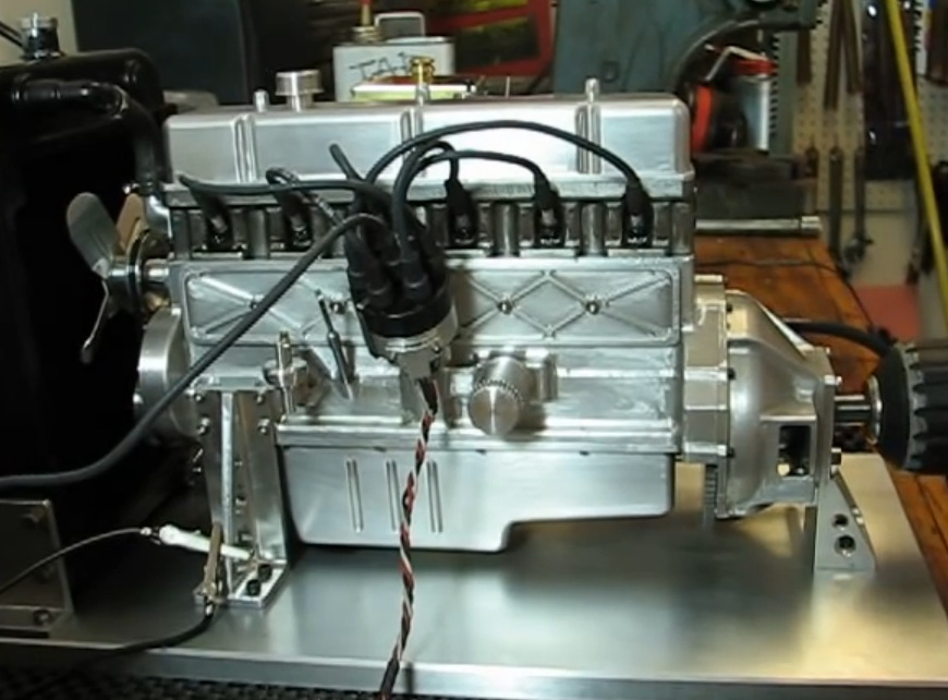 This Guy Scratch Built A Miniature Ford 300ci Inline Six – It Is Amazing And It Sounds Fantastic Running! (Great Video)
