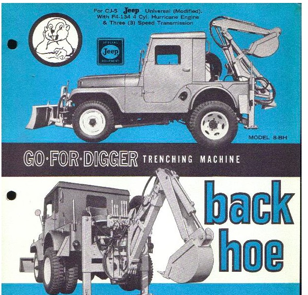 The CJ5 Go-For-Digger – A True Mighty Mite (With Video of One In Action!)