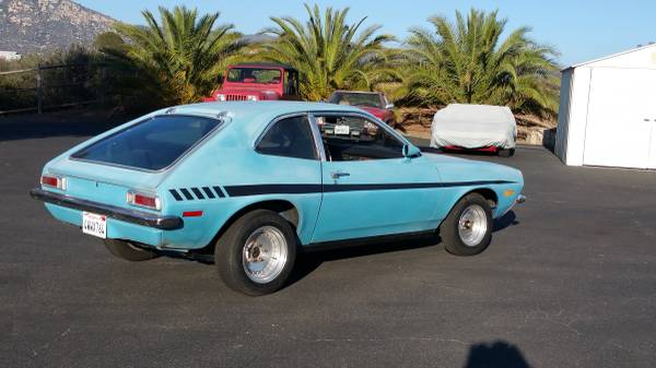 Bangshift Com Rough Start This 1971 Pinto Is A 289 Powered Firebomb