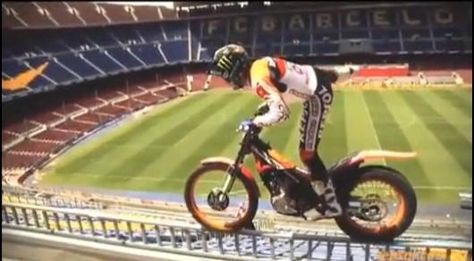 Knife Edge: Watch Trials Rider Toni Bou Make An Absolute Mockery Of Physics