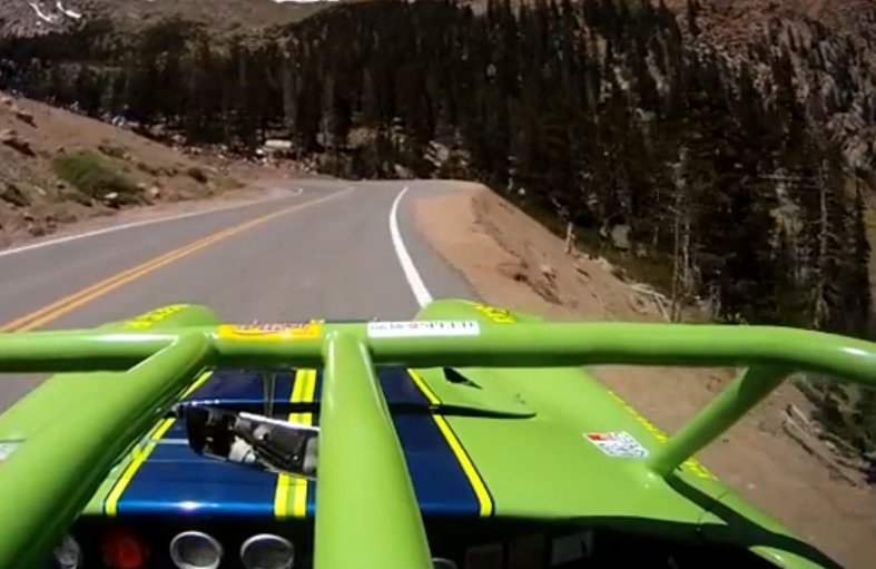 Riding Up Pikes Peak on the Roll Bar of a Screaming Chevy Equipped Cobra Will Make You Want To Carve Corners Today!