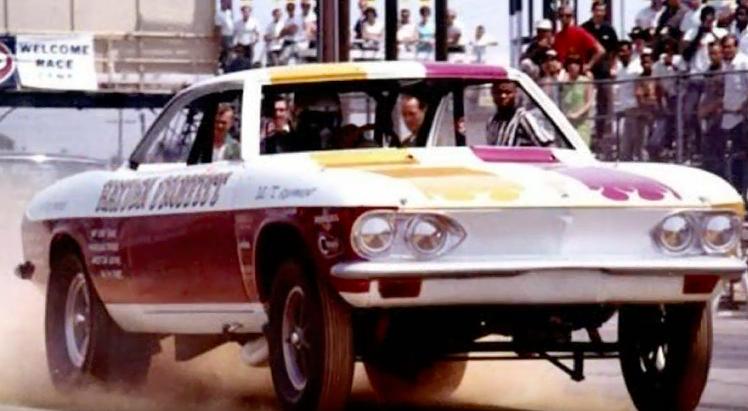 BangShift com Corvair Funny Car
