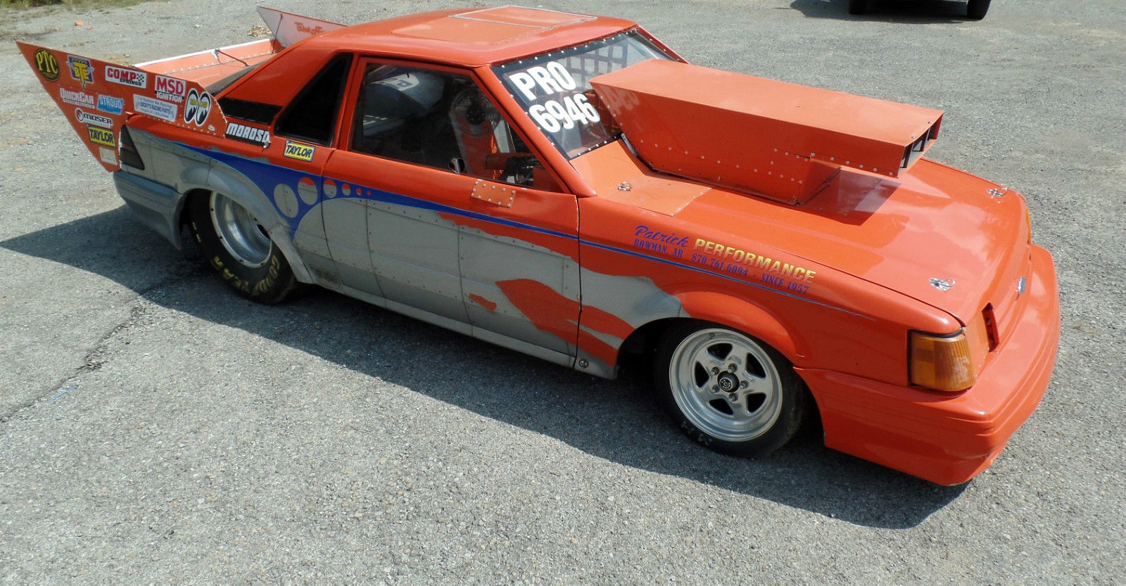 eBay Find Would You Race This Old Ford Escort EXP Pro Mod After Clearing The & BangShift.com Ford Escort GXP Pro Mod markmcfarlin.com