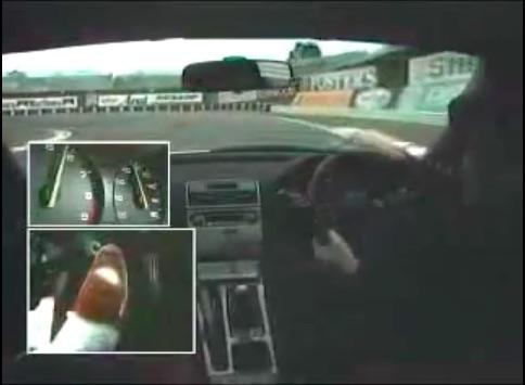 Classic YouTube: Ayrton Senna's Footwork As He Beats A Honda NSX Around Suzuka Circuit