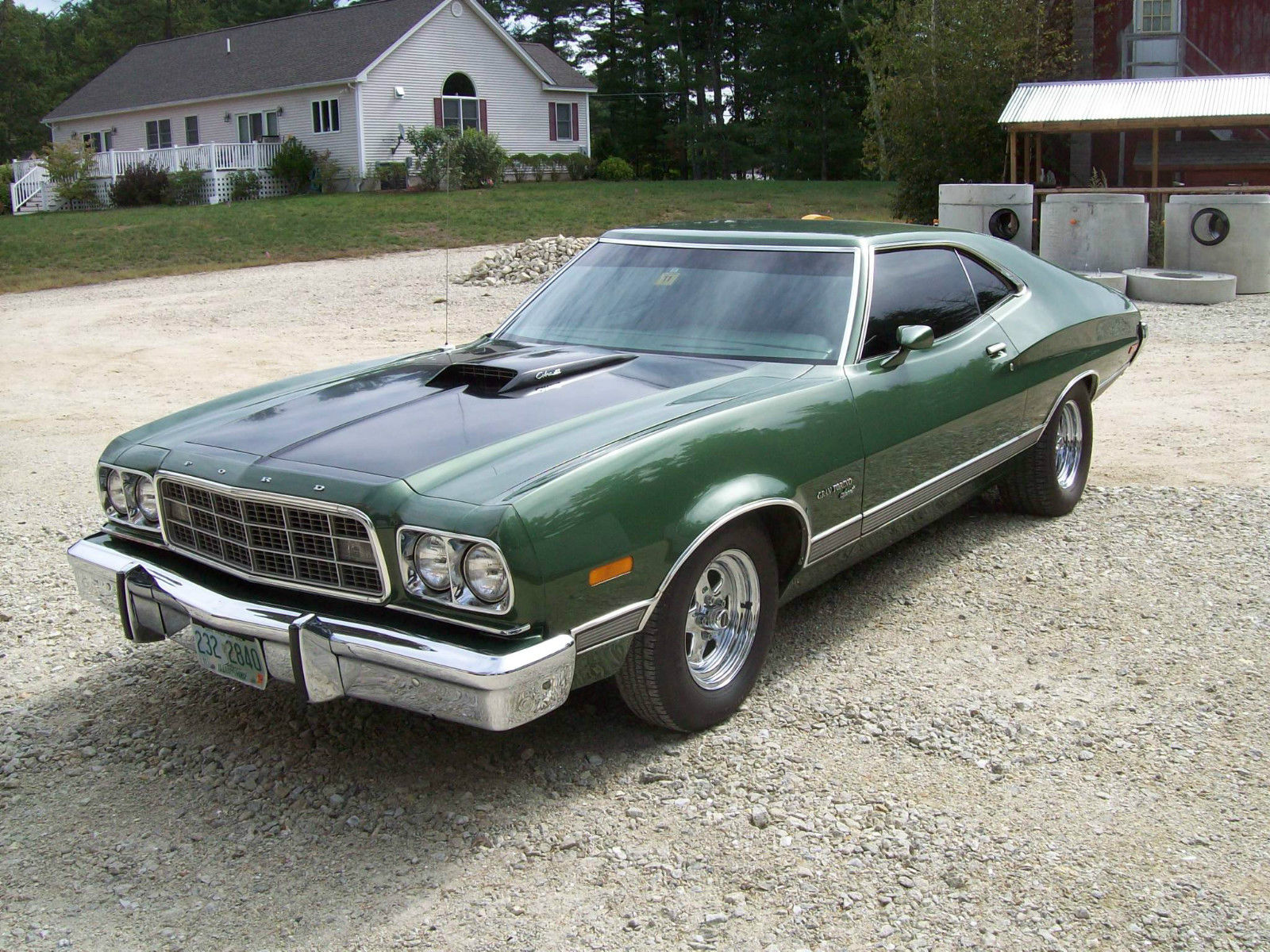 this 1973 ford gran torino sport may not be. Black Bedroom Furniture Sets. Home Design Ideas