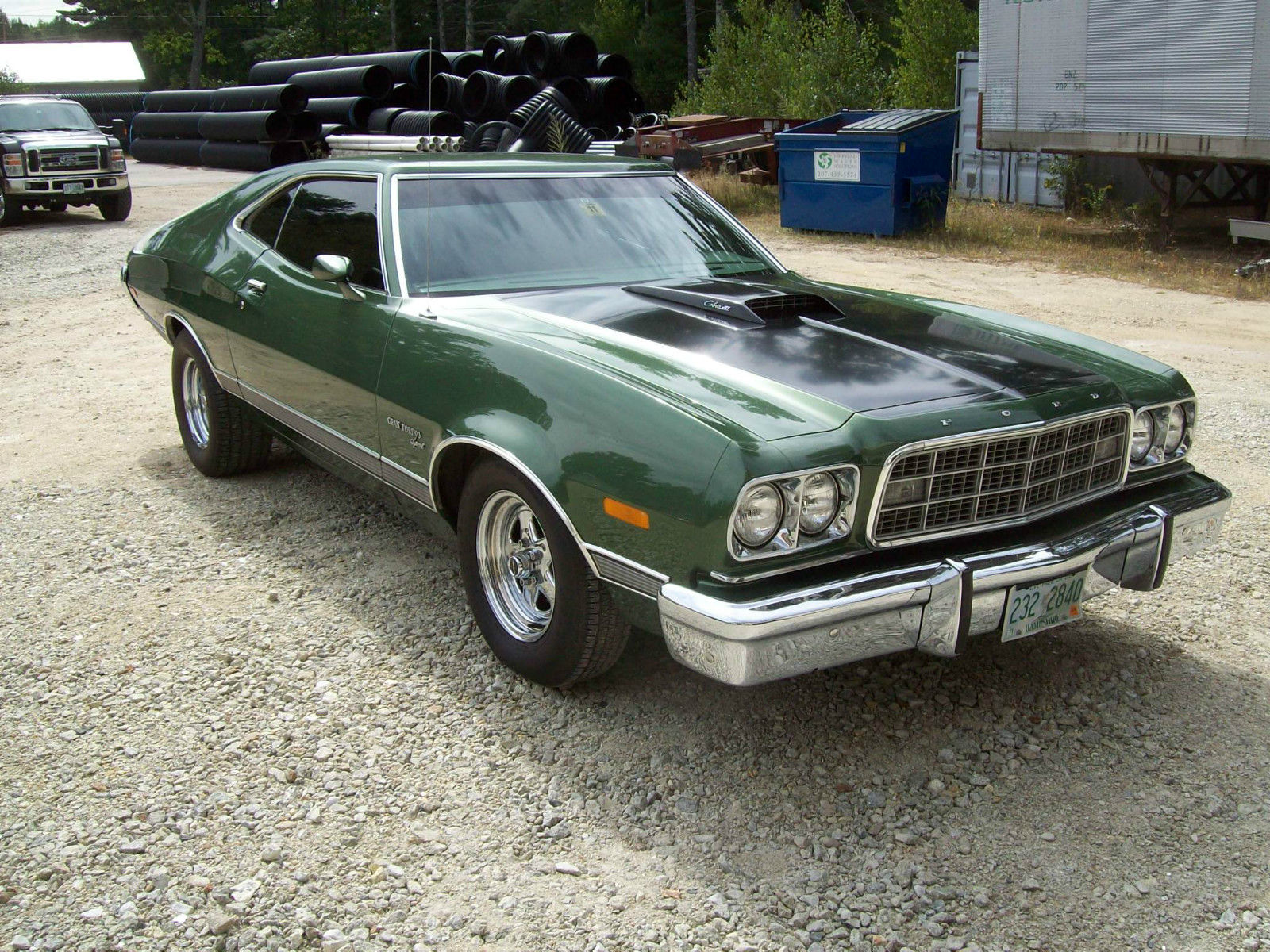 this 1973 ford gran torino sport may not be your diamond in the rough but it is. Black Bedroom Furniture Sets. Home Design Ideas
