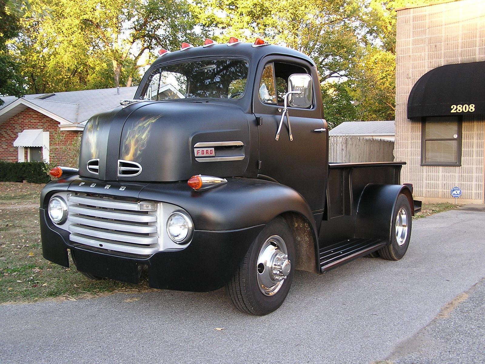 Be Cooler Than Anyone Else At Home Depot In This 1948 Ford Pickup Hot Rod Coe For Sale 2