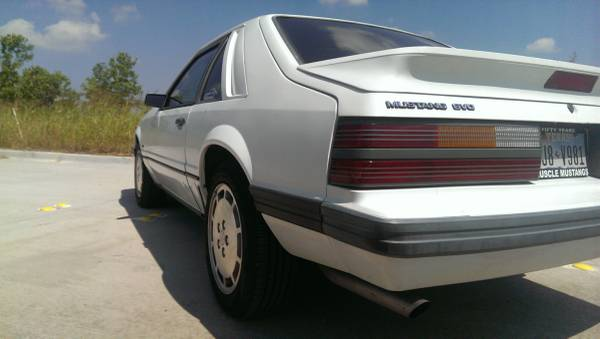 this 1986 svo turbo mustang is for sale at only 5500 obo. Black Bedroom Furniture Sets. Home Design Ideas