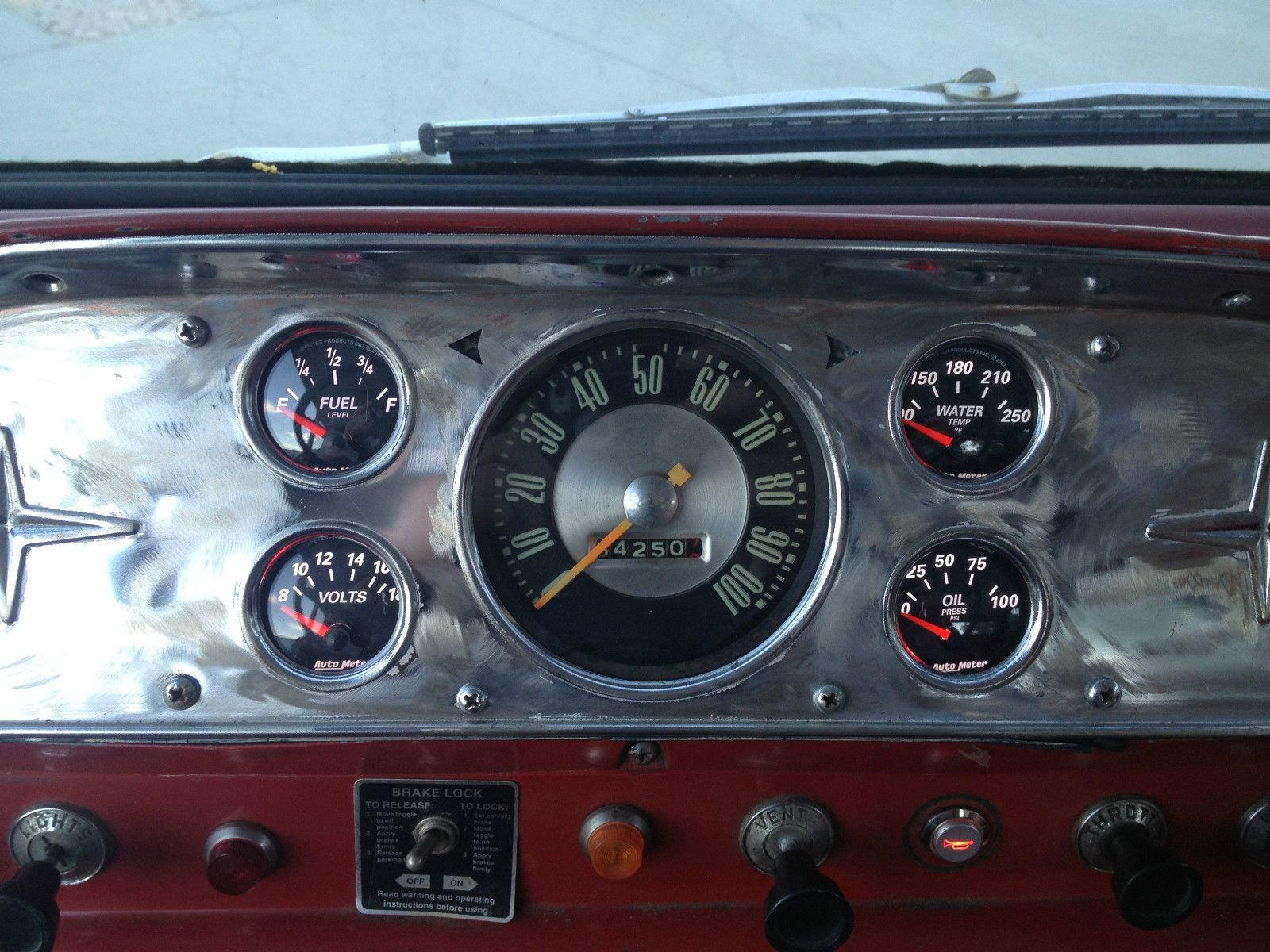 Take A Look At This 1958 Ford C 800 Fire Truck Engine Air Brake Diagram Ramp Car Hauler 11