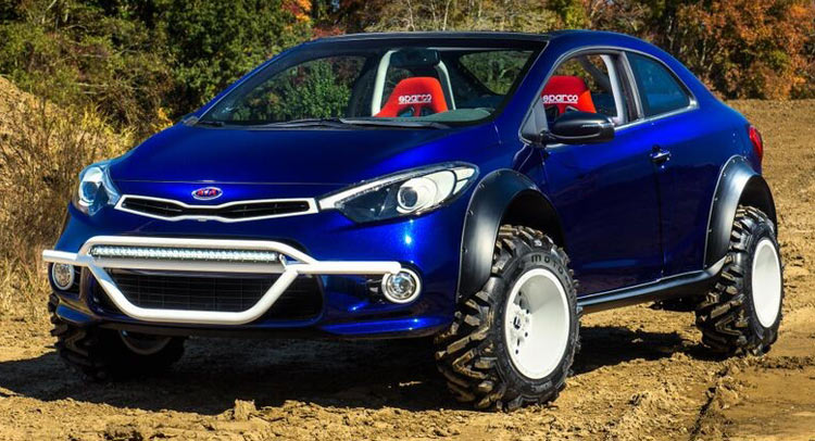 BangShiftcom Question Of The Day Is The Kia Forte Koup Mud - Cool cars 4x4