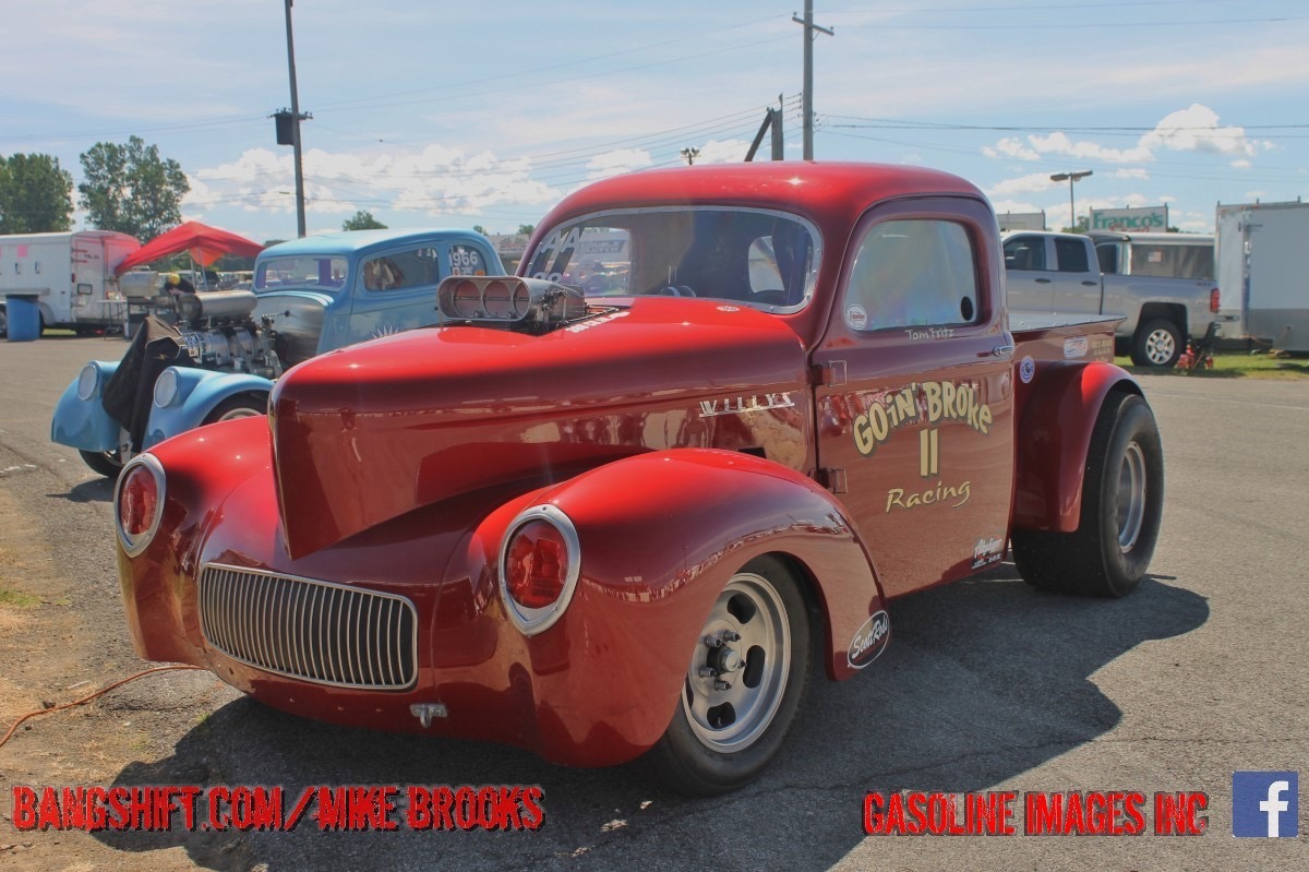 Lancaster Dragway Sunday Nostalgia Coverage: Cool Old Iron Revisits The Strip