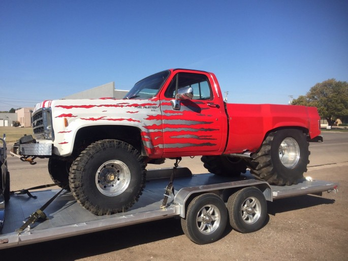 Quagmire Chevy Pickup 4x4 Monster 1