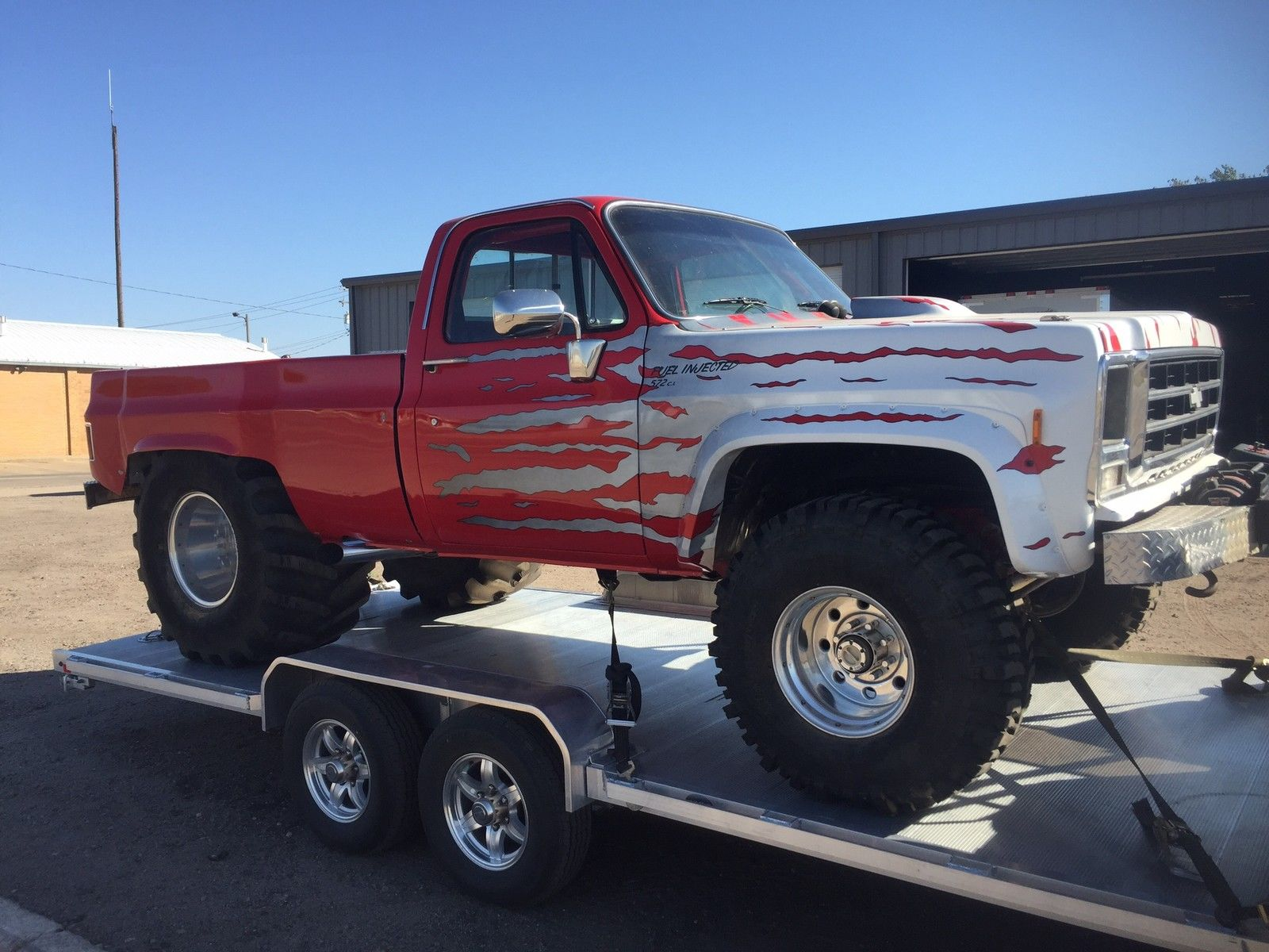Lifted Trucks For Sale Near Me >> BangShift.com The Truck Of All Trucks, QUAGMIRE IS FOR SALE!!! Buy This Epic Icon And Wheel It ...