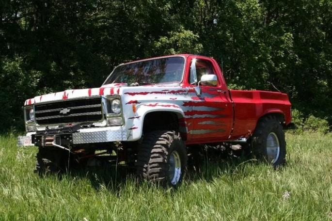 Quagmire Chevy Pickup 4x4 Monster 8