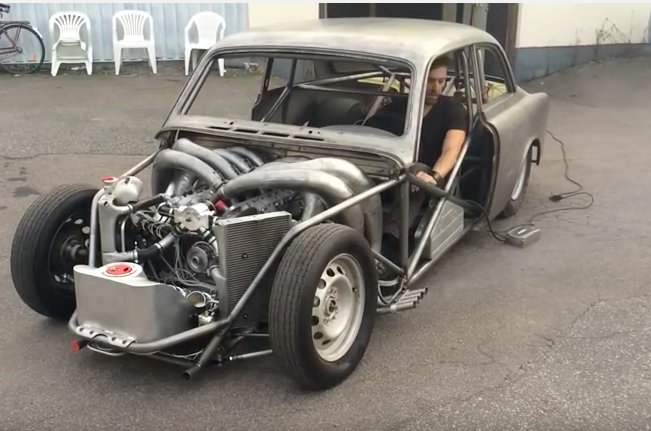 The Rudezon Lives! Here's The Scoop On The 2-Stroke V8 Powered Volvo From Sweden