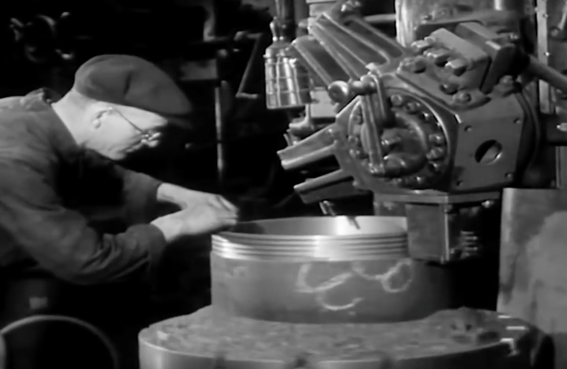 Amazing Video: Here's How Locomotives Were Overhauled In 12 Days Circa 1938 England